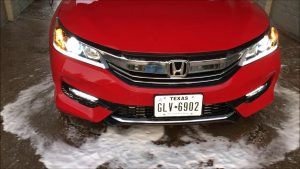 How to change 2016 Honda Accord Headlights with LED Bulbs