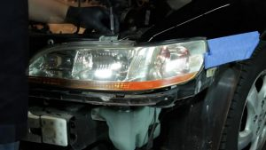 The guide to install 1998-2002 Honda Accord projector headlights